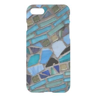 Capa iPhone 8/7 Mosaico azul do vidro do mar