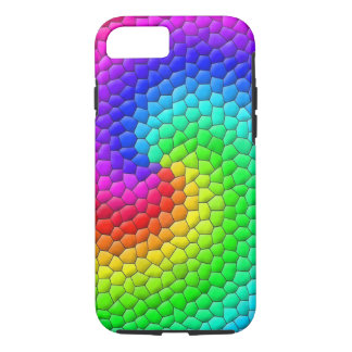 Capa iPhone 8/ 7 Mosaico do arco-íris