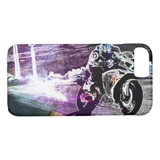 Capa iPhone 8/ 7 motocross biking da sujeira que compete o