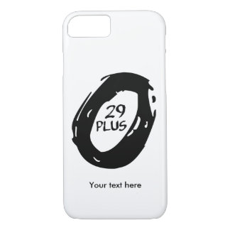 Capa iPhone 8/ 7 Mountain bike 29 positivo