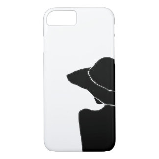 Capa iPhone 8/ 7 Mulher com chapéu