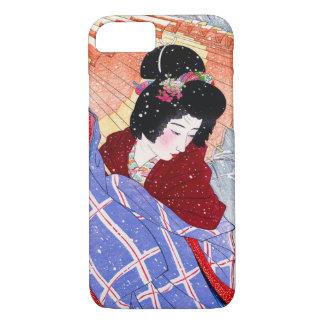 Capa iPhone 8/ 7 Mulher japonesa Maiko da senhora da gueixa da