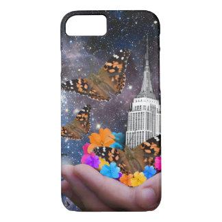 Capa iPhone 8/ 7 Mundo inteiro em minha caixa das mãos