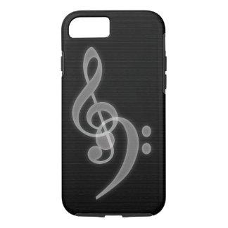 Capa iPhone 8/ 7 Música - caso resistente do iPhone 7 do triplo e