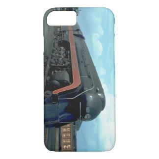 Capa iPhone 8/ 7 N&W 4-8-4 #611. (trem; céu; nuvens; trilha;)