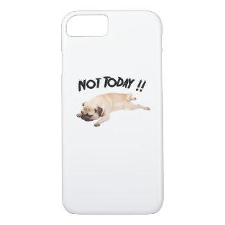 Capa iPhone 8/ 7 Não hoje para amar o cão de filhote de cachorro