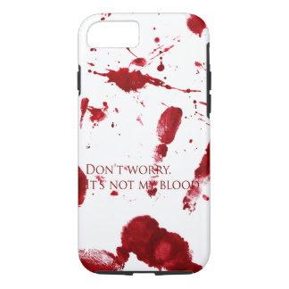 Capa iPhone 8/ 7 Não se preocupe, ele não é meu sangue