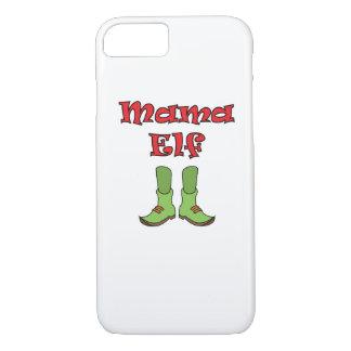 Capa iPhone 8/ 7 Natal de harmonização do casal do duende da mamã