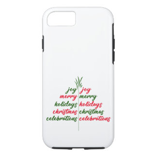 Capa iPhone 8/ 7 Natal-Festivo-Árvore