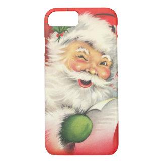 Capa iPhone 8/ 7 Natal vintage Papai Noel
