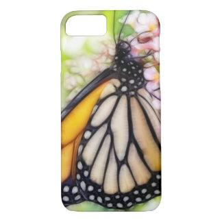 Capa iPhone 8/ 7 Néctar sorvendo da borboleta de monarca