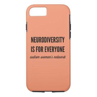 Capa iPhone 8/ 7 Neurodiversity é para todos caso