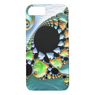 Capa iPhone 8/ 7 Nodules espiralados do Fractal