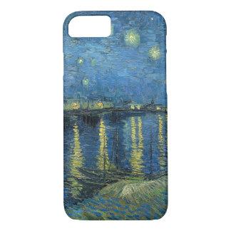 Capa iPhone 8/ 7 Noite estrelado de Vincent van Gogh sobre o Rhone
