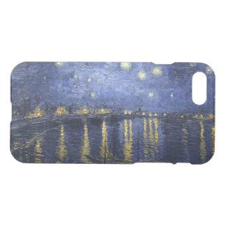 Capa iPhone 8/7 Noite estrelado sobre o Rhone