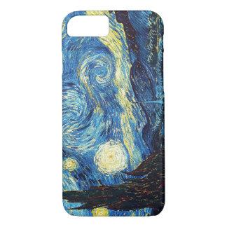 Capa iPhone 8/ 7 Noite estrelado - Van Gogh