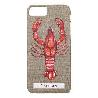 Capa iPhone 8/ 7 Nome do costume de serapilheira dos lagostins de