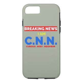 Capa iPhone 8/ 7 Notícias de última hora: Eu sou o vizinho Nosy