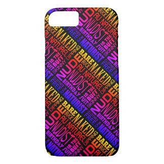 Capa iPhone 8/ 7 Nudista/naturista - a roupa colorida livra