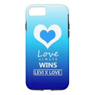 """Capa iPhone 8/ 7 O """"amor ganha sempre"""" - o AMOR de LEVI X"""