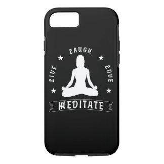 Capa iPhone 8/ 7 O amor vivo do riso Meditate o texto fêmea