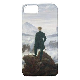 Capa iPhone 8/ 7 O andarilho acima do mar da névoa