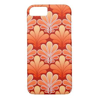 Capa iPhone 8/ 7 O art deco Shell modela, tanjerina
