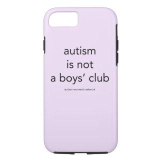 Capa iPhone 8/ 7 O autismo não é um clube dos meninos: caso do