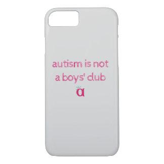 Capa iPhone 8/ 7 o autismo não é um exemplo esboçado do clube dos