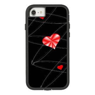 Capa iPhone 8/ 7 O balé ata o querido brilhante, monograma de