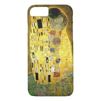 Capa iPhone 8/ 7 O beijo por Gustavo Klimt