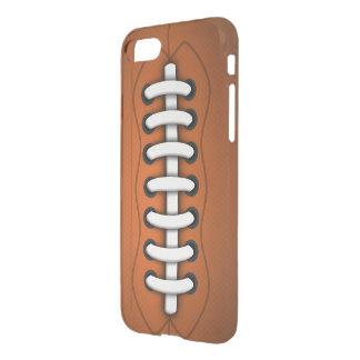 Capa iPhone 8/7 O branco ata o futebol americano alaranjado de