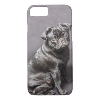 Capa iPhone 8/ 7 O caso/cobrir do iPhone 6 do Pug mal lá/protege