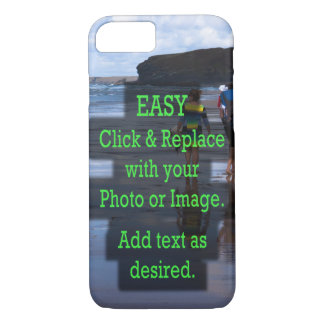 Capa iPhone 8/ 7 O clique fácil & substitui a foto para criar seus