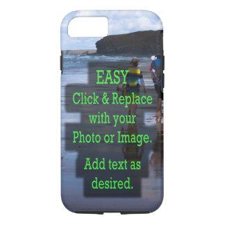 Capa iPhone 8/ 7 O clique simples e substitui a foto para fazer