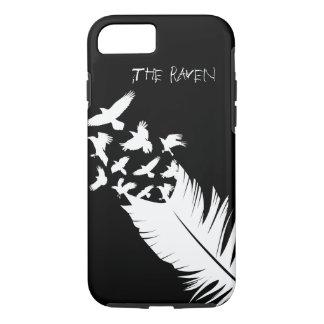 Capa iPhone 8/ 7 O corvo, preto e branco