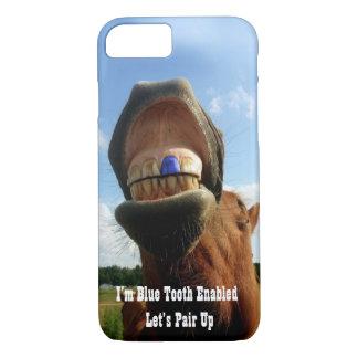 Capa iPhone 8/ 7 O dente azul permitiu o cavalo