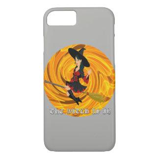 Capa iPhone 8/ 7 O Dia das Bruxas a bruxa é em Iphone 8/7 de caso