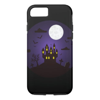 Capa iPhone 8/ 7 O Dia das Bruxas - caixa do castelo de Dracula