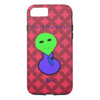 Capa iPhone 8/ 7 O diamante e a alienígena vermelhos dirigem a