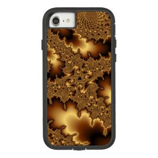 """Capa iPhone 8/ 7 O fractal dourado """"abstrato sae"""""""