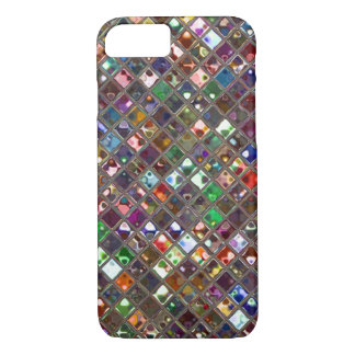 Capa iPhone 8/ 7 O Glitz telha a caixa Multicoloured do iPhone 7 do