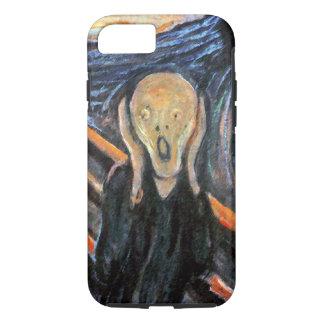 Capa iPhone 8/ 7 O gritar - pintura Munch perto - CASO GRITANDO