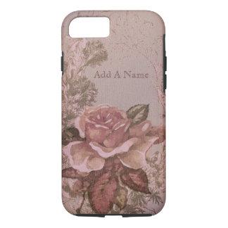Capa iPhone 8/ 7 O inglês velho cor-de-rosa aumentou
