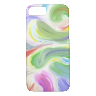 Capa iPhone 8/ 7 o iPhone 7/8 de abstrato da arte da pétala colore