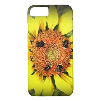 Capa iPhone 8/ 7 O iPhone de abelha ocupada/caso do iPad