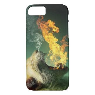 Capa iPhone 8/ 7 O iphone o mais quente do tigre