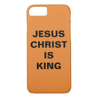 "Capa iPhone 8/ 7 O ""Jesus Cristo é iPhone do rei"" Apple 8/7 de caso"