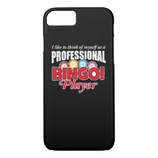 Capa iPhone 8/ 7 O jogador do Bingo pensa-se como o profissional