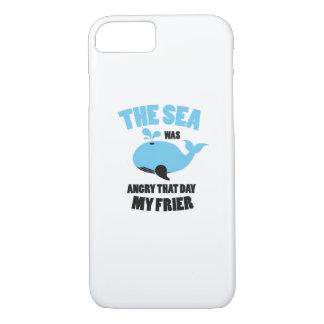 Capa iPhone 8/ 7 O mar estava irritado que dia meus amigos